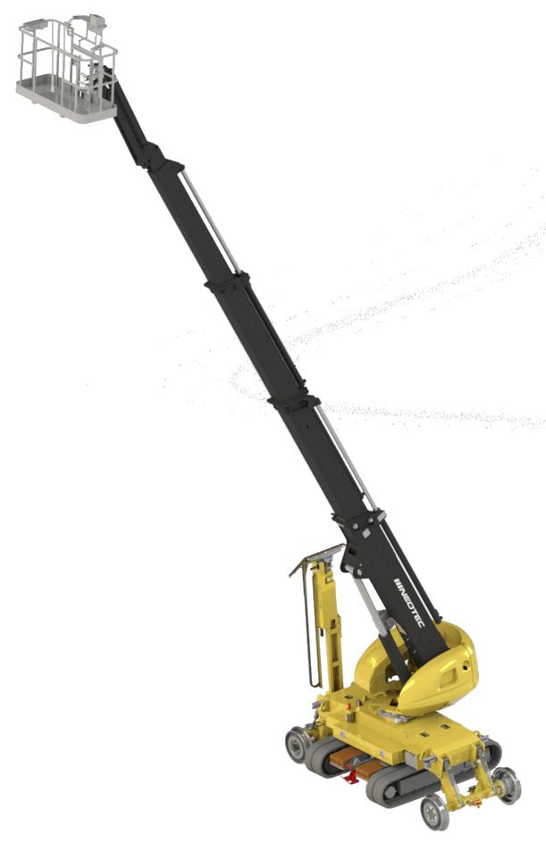 Nacelle élévatrice Skyrailer 300c3 - Neotec